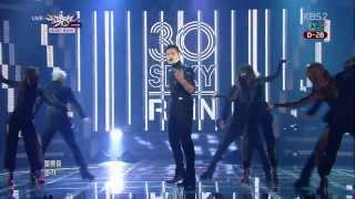 Repeat youtube video [140110] Rain - 30 Sexy+La Song+Ending (Comeback Stage)