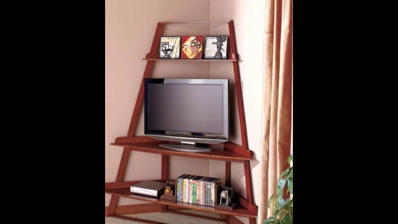 Corner Tv Stand Designs : Corner tv stand ebay