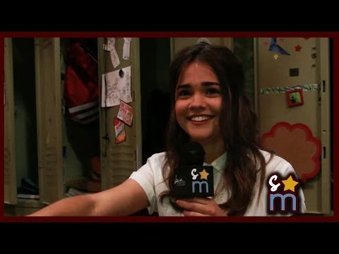 Maia Mitchell Accent Challenge  The Fosters Season 2 Interview