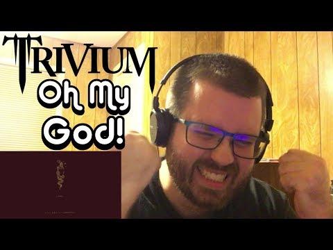Trivium  Betrayer  Audio Reaction!!!!! OH MY F****** GOD!!!