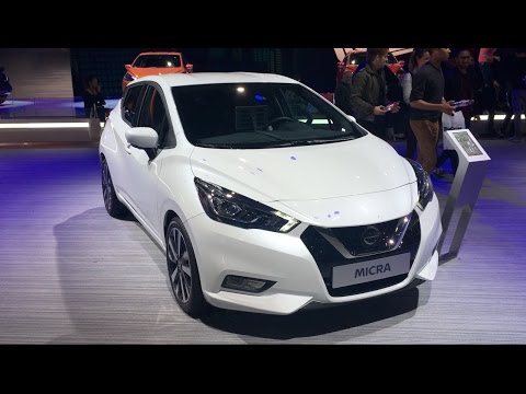nissan micra 2017 in detail review walkaround interior exterior youtube. Black Bedroom Furniture Sets. Home Design Ideas
