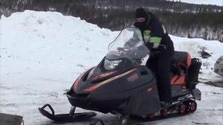 Снегоход Тайга Патруль 550 SWT. Покорение вершины Кильдинская. Крутое видео. Full HD