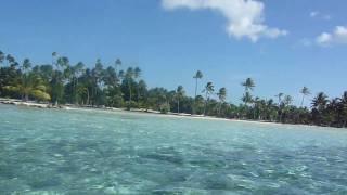 Camino al jardín de coral en Tahaa