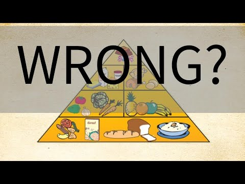 Healthy Food Pyramid Corrections Youtube