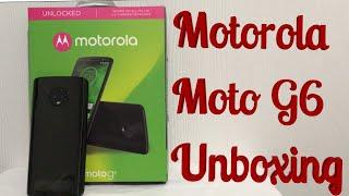 Motorola Moto G6 Detailed Unboxing & First Look