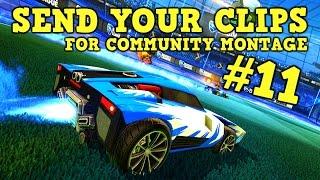 SEND Rocket League GOALS, SAVES & FAILS for Community Montage #11 + I'M A DAD!