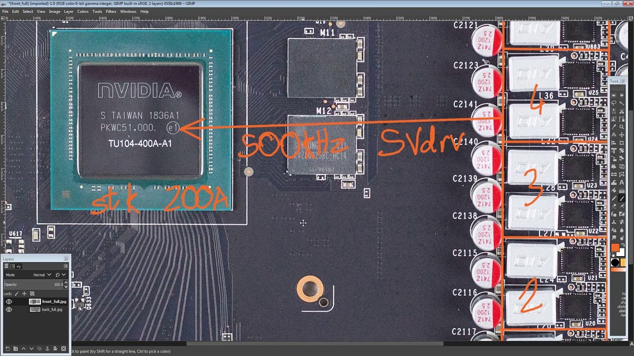 GPU PCB Breakdown: Zotac RTX 2080 AMP Extreme