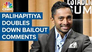Social Capital CEO Chamath Palihapitiya's case against stock buybacks, dividends