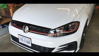 homepage tile video photo for 2018 VW GTI SE Ep.219: Jame's Thin Hood Bra Idea!