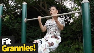 Exercising Grannies Compilation | Age is Just a Number