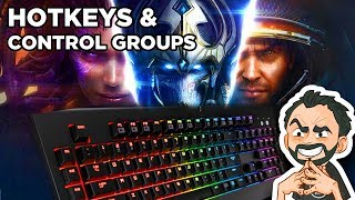 Starcraft 2 - Hotkeys & Control Groups ! Tips from a Master Player !