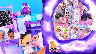 Куклы ЛОЛ из БУДУЩЕГО! LOL Surprise Dolls Видео для детей + MLP Teacher Twilight Sparkle