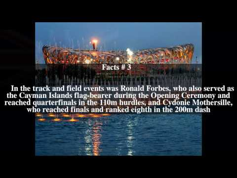 Cayman Islands at the 2008 Summer Olympics Top # 5 Facts