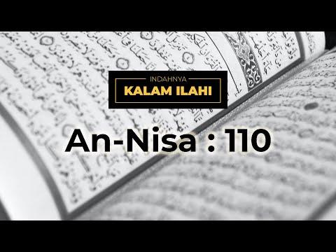 Indahnya Kalam Ilahi Ep. 8 :An-Nisa ayat 110