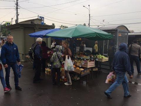 Рейд по незаконной торговле в Калининском районе Санкт-Петербурга
