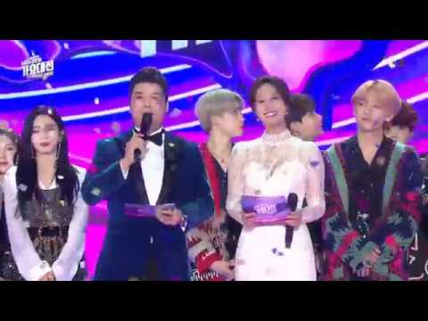 SBS Gayo Daejun 2018 Ending Ft. BTS Funny Bowing!