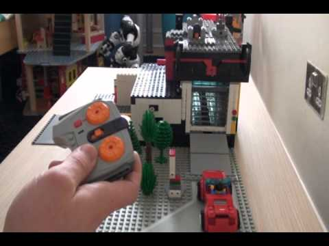 Automatic Lego Garage Doors In Car Wash With Mindstorms