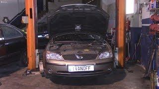 Ремонт автомобиля Ford Mondeo 2002 2,0D  TDCi замена турбины