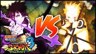 [PC] NARUTO SHIPPUDEN: Ultimate Ninja STORM 3 FULL BURST | Ashura Naruto VS  Indra Sasuke