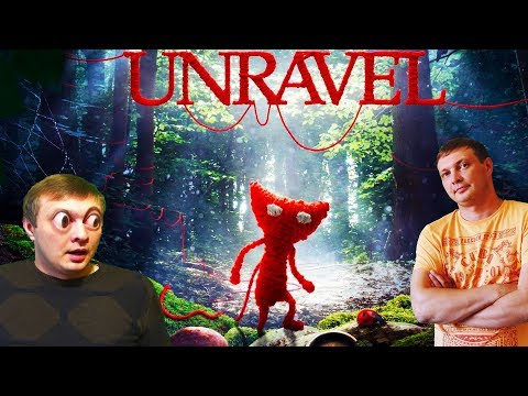 UNRAVEL #1 Приключения вязаного человечка  Сюжетный игровой мультик для детей  Знакомство
