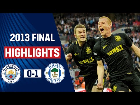 WIGAN Win the FA Cup in 88th Minute!! | Wigan Athletic 1-0 Manchester City FA Cup Final 2013