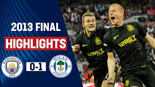 HIGHLIGHTS EXTRA: Wigan Athletic vs Manchester City 1-0, FA Cup Final 2013