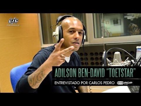 """Adilson Ben-David """"ToetStar"""" entrevistado por Carlos Pedro, RDP África"""