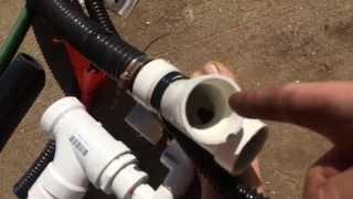 diy pvc 12v gold dredge nozzle 1 1 2 inch gold sucker bedrock sniper