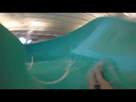 The Pretzel Water Slide At The YMCA Downtown Boise Idaho