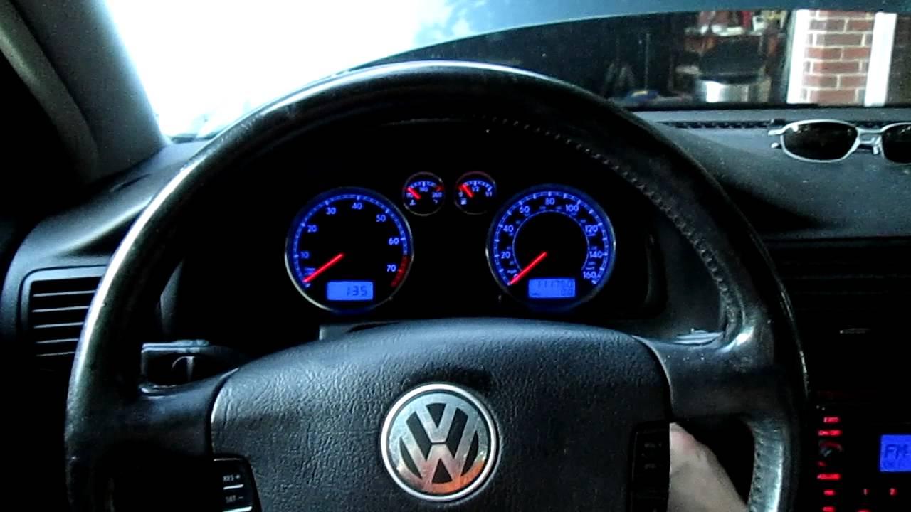 2001 vw beetle dash light [ 1280 x 720 Pixel ]