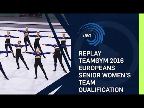 REPLAY - TeamGym 2016 Europeans - Senior women's team qualification (13 Oct 2016)