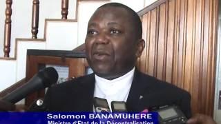Mission de Son Excellent Salomon BANAMUHERE au Burundi