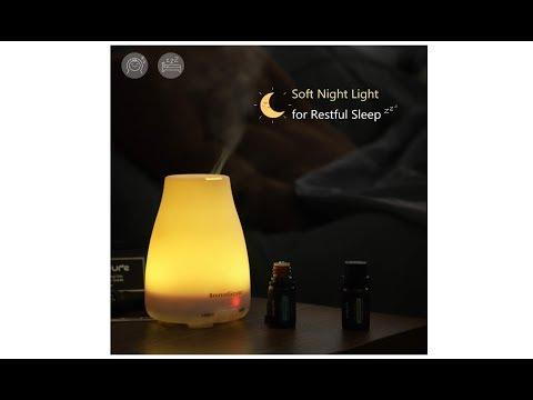 InnoGear Aromatherapy Essential Oil Diffuser #    Amazon