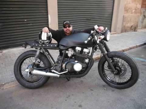 suzuki gsx 400 cafe racer - youtube