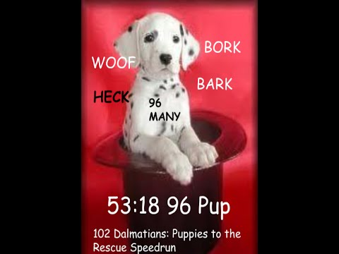 102 Dalmatians: Puppies to the Rescue [96 Puppers] Speedrun (Read Desc.)