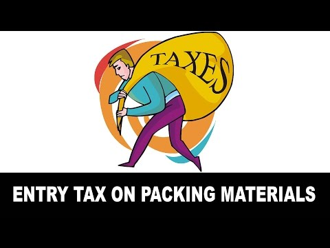 Entry Tax on packing materials used for tea manufacturing