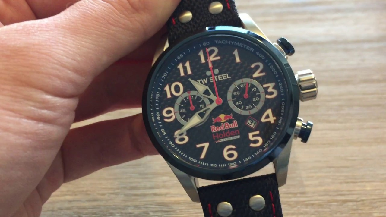 TW Steel TW967 Red Bull Holden watch review