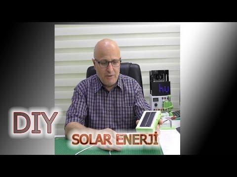 Güneş Enerjisi Ile Power Bank Yapımı   Solar Charger