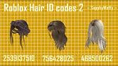 Roblox Rhs Hair Id Codes Youtube