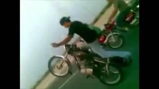 Funny bike ride