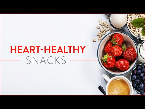 Heart Healthy Snacks - Heart Healthy Diet  - 20 Heart Healthy Snacks for Any Occasion