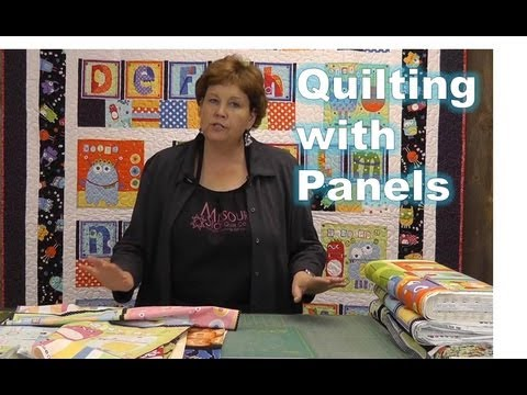 Using Quilting Panels with Precuts!