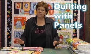Using Quilting Panels with Precuts! thumbnail