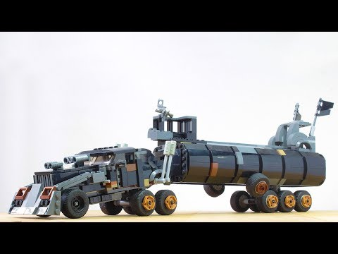 Building a Lego War Rig from Mad Max Fury Road