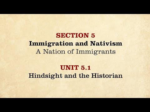 MOOC | Hindsight and the Historian | The Civil War and Reconstruction, 1850-1861 | 1.5.1