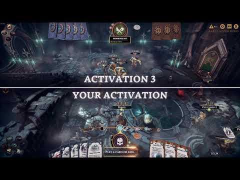 Warhammer Underworlds Online  - Bitva  I Alza Gaming (Gameplay) |