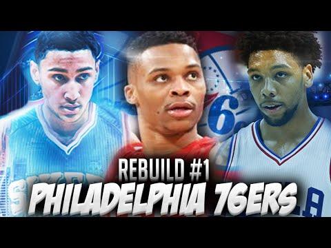 NBA2K16 MyLEAGUE - Rebuilding the Philadelphia 76ers! CRAZY TRADES + CHAMPIONSHIP?