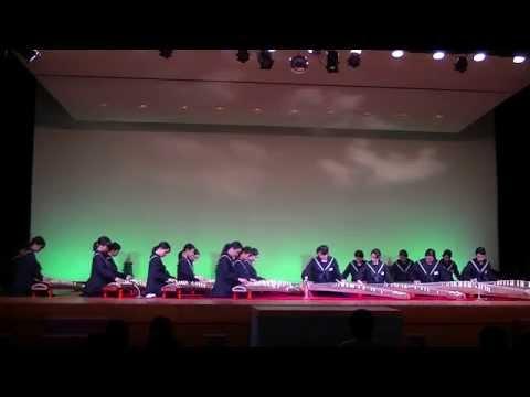 箏四重奏「まほら」 福岡市立箱崎清松中学校 箏曲部