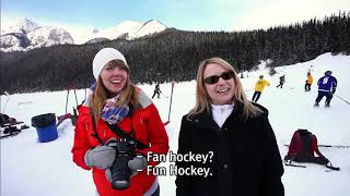 Journey Through Canada - Part 3. Lake Louise, a Romantic Winter Lake [Themes Around the World]