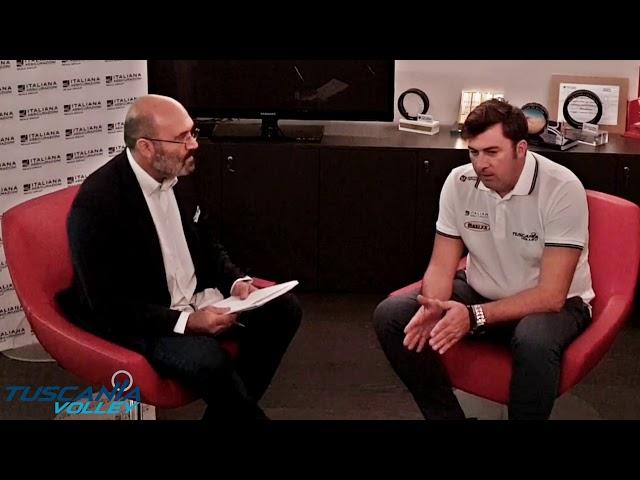Intervista a Vincenzo NACCI nuovo Tecnico della Maury's Italiana Assicurazioni TUSCANIA